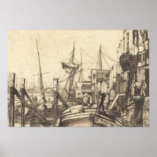 Pfeifer James Abbott McNeill - Limehouse Poster