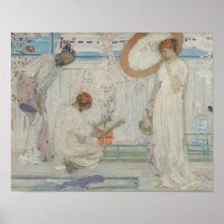 Pfeifer James McNeill - die weiße Symphonie Poster