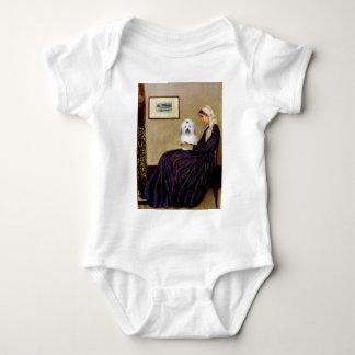 Pfeifer-Mutter - Baumwolle de Tulear 2 Baby Strampler
