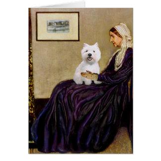 Pfeifer-Mutter - Westie 2 Karte