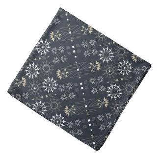 Pfeil boho Stammes- Schwarz-weißes Muster DIY Kopftuch