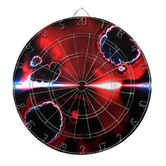 Pfeil-Brett der Fraktal-Kunst-1-8 Dartscheibe