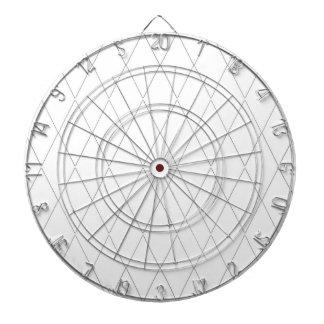 Pfeil-Brett-Modern-Diamant-Weißes (c) Schweizer Dartscheibe