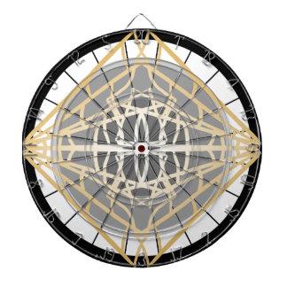 Pfeil-Dartscheibe-geometrische Dartscheibe