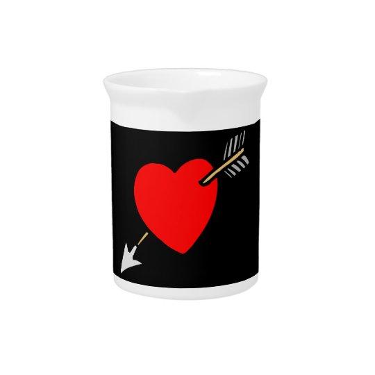 Pfeil durch das Herz - L Getränke Pitcher
