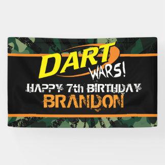 Pfeil kämpft Geburtstag Banner