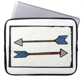 Pfeil-Laptop-Kasten Laptopschutzhülle