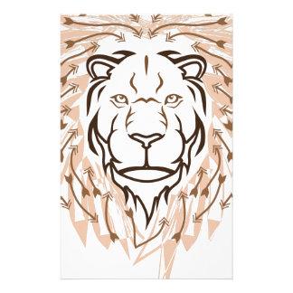 Pfeil-Löwe Briefpapier