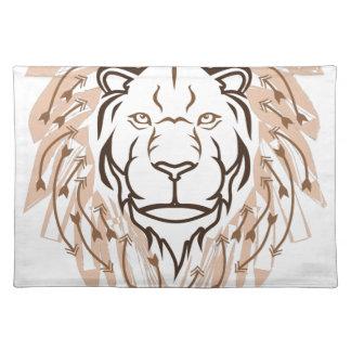 Pfeil-Löwe Tischset