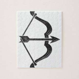Pfeil und Bogen Puzzle