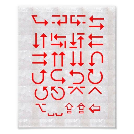 PFEILE Karten-Richtungs-Gehirn-Kreuzungen OpenMind Kunstphotos