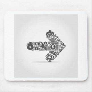 Pfeilgeschäft Mousepad
