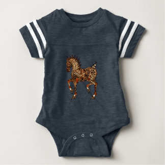 Pferd 9 baby strampler