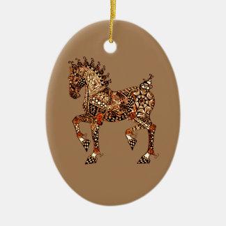 Pferd 9 keramik ornament