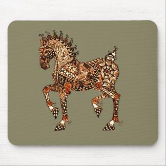 Pferd 9 mauspad