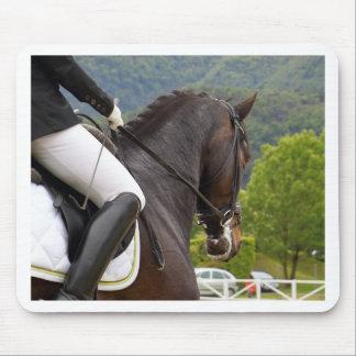 Pferd am Errichten Mousepad