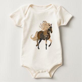 Pferd Baby Strampler