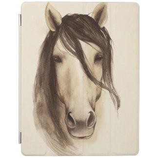 Pferd der Aquarell-Scheunen-Tier-  iPad Smart Cover