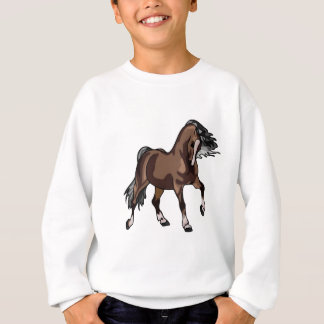 Pferd einer anderen Farbe Sweatshirt