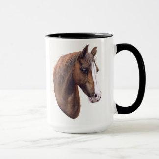 Pferd gemalt in der Wasserfarbe Tasse