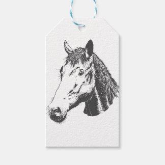 Pferd Geschenkanhänger