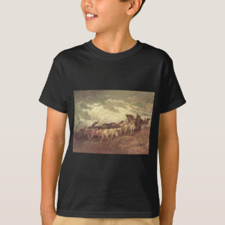 Pferd gezeichnet von Honore Daumier T-Shirt