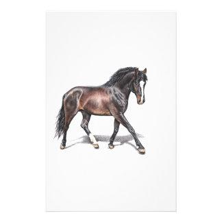 Pferd im Trab - Horse in Motion Individuelle Büropapiere