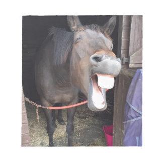 Pferd Notizblock