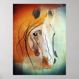 Pferd Poster