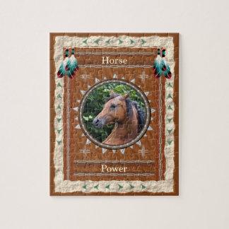 Pferd - Power Puzzle mit Geschenkboxen