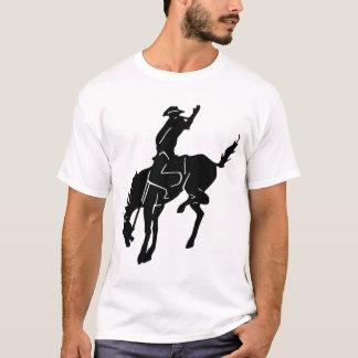 Pferd reiten ihn Cowboy-Shirt T-Shirt