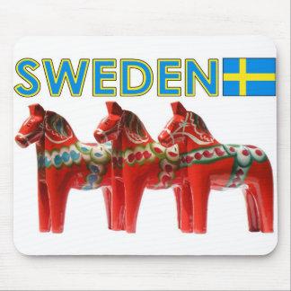 Pferd Schwedens Dala Mousepad