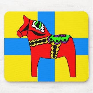 Pferd Schwedens Dala Mousepads