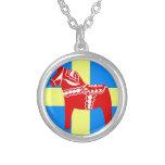 Pferd Schwedens Dala Personalisierte Halskette