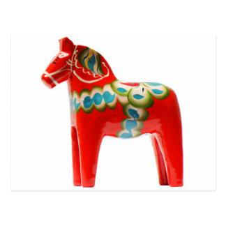 Pferd Schwedens Dala Postkarten