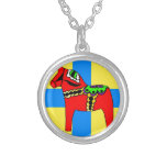 Pferd Schwedens Dala Selbst Gestaltete Halskette
