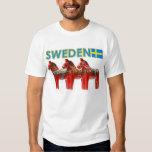Pferd Schwedens Dala T Shirts