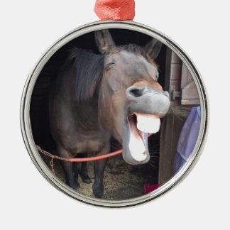 Pferd Silbernes Ornament