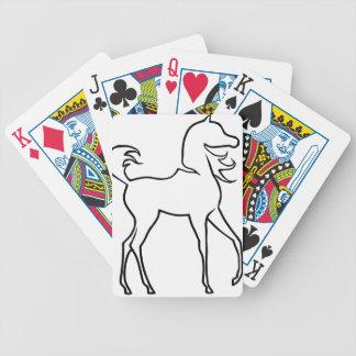 Pferd Spielkarten