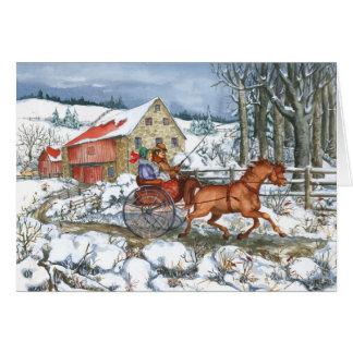 Pferd u. Wagen Karte