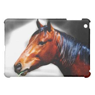Pferd und ein Grashalm iPad Mini Hülle