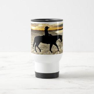 Pferd und Reiter-Tasse