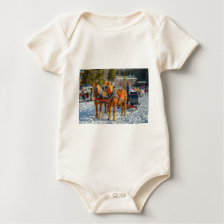 Pferde Baby Strampler