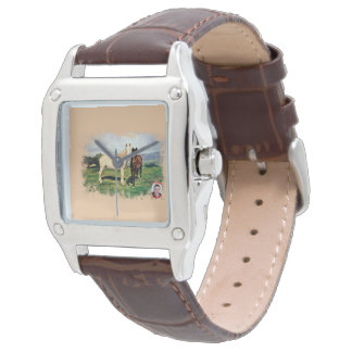 Pferde/Cabalos/Horses Armbanduhr