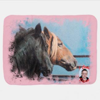 Pferde/Cabalos/Horses Babydecke