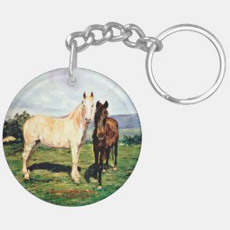 Pferde/Cabalos/Horses Schlüsselanhänger