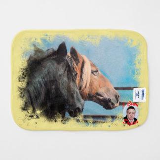 Pferde/Cabalos/Horses Spucktuch