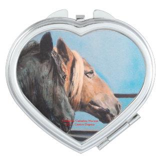 Pferde/Cabalos/Horses Taschenspiegel