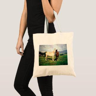 Pferde/Cabalos/Horses Tragetasche