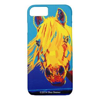 Pferde in PrimäriPhone Fall iPhone 8/7 Hülle